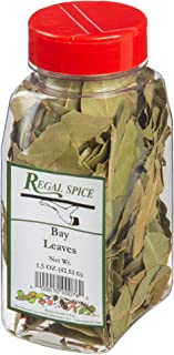 Regal Whole Bay Leaves Spice - Dried Bay Leaf Herb to Add Strong And Tangy Flavor to Your Dishes ( Laurel and Bay Leaves 1...