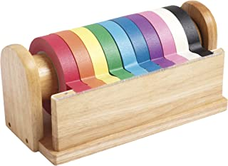 """ECR4Kids Decorative Craft Tape (10 Pack), 1"""" x 60-Yards/Roll, Assorted Colors"""