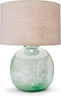 Regina Andrew Seeded Recycled 3-Way 150 Watt Max Green and Glass 1 Socket - Decorative Table Lamp
