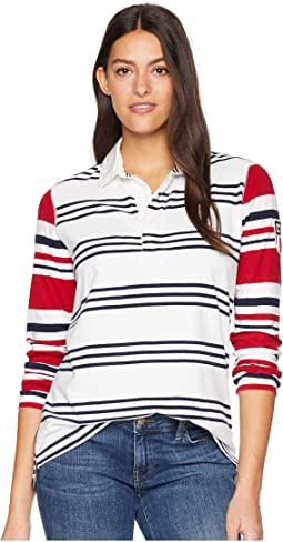 Rugby Jersey Long Sleeve Knit