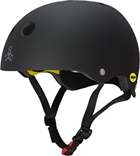 Triple Eight Dual Certified MIPS Bike and Skateboard Helmet