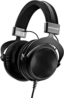 beyerdynamic DT 880 Premium Semi-Open Over Ear HiFi Stereo Headphones (250 Ohm Premium, Black (Limited Edition))