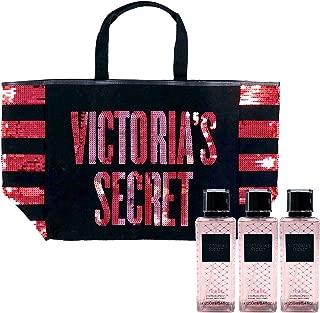 Victoria's Secret Gift Set Tease Mist & Tote Bag 4 Piece Combo