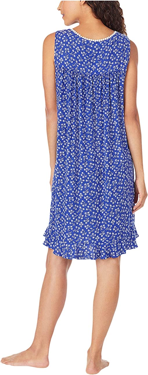 Navy Ground White Daisy Floral