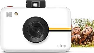 KODAK Step Cámara Digital con Sensor de Imagen de 10 MP - Tecnología Zink, Visor clásico, Modo selfi, Temporizador automát...