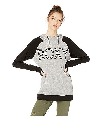 Roxy Liberty Hoodie (Heather Grey) Women