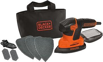 Black+ Decker Mouse KA2000 Szlifierka Trójkątna z Mikrofiltrem, 120 W