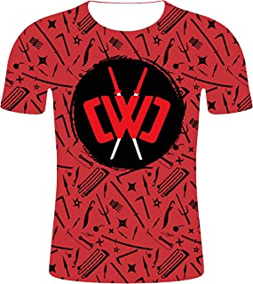 Chad Wild Clay Shirt for Kids Boys Girls 3D Printed Youth CWC Fashion Tshirts