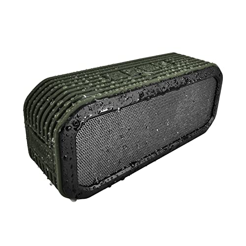 Divoom Outdoor2 Portable Bluetooth Wireless Rugged Speaker (Green)
