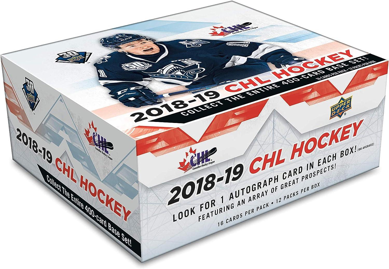 201819 Upper Deck  CHL Hockey  Hobby Box (201819 Upper Deck  CHL Hockey  Hobby Box)