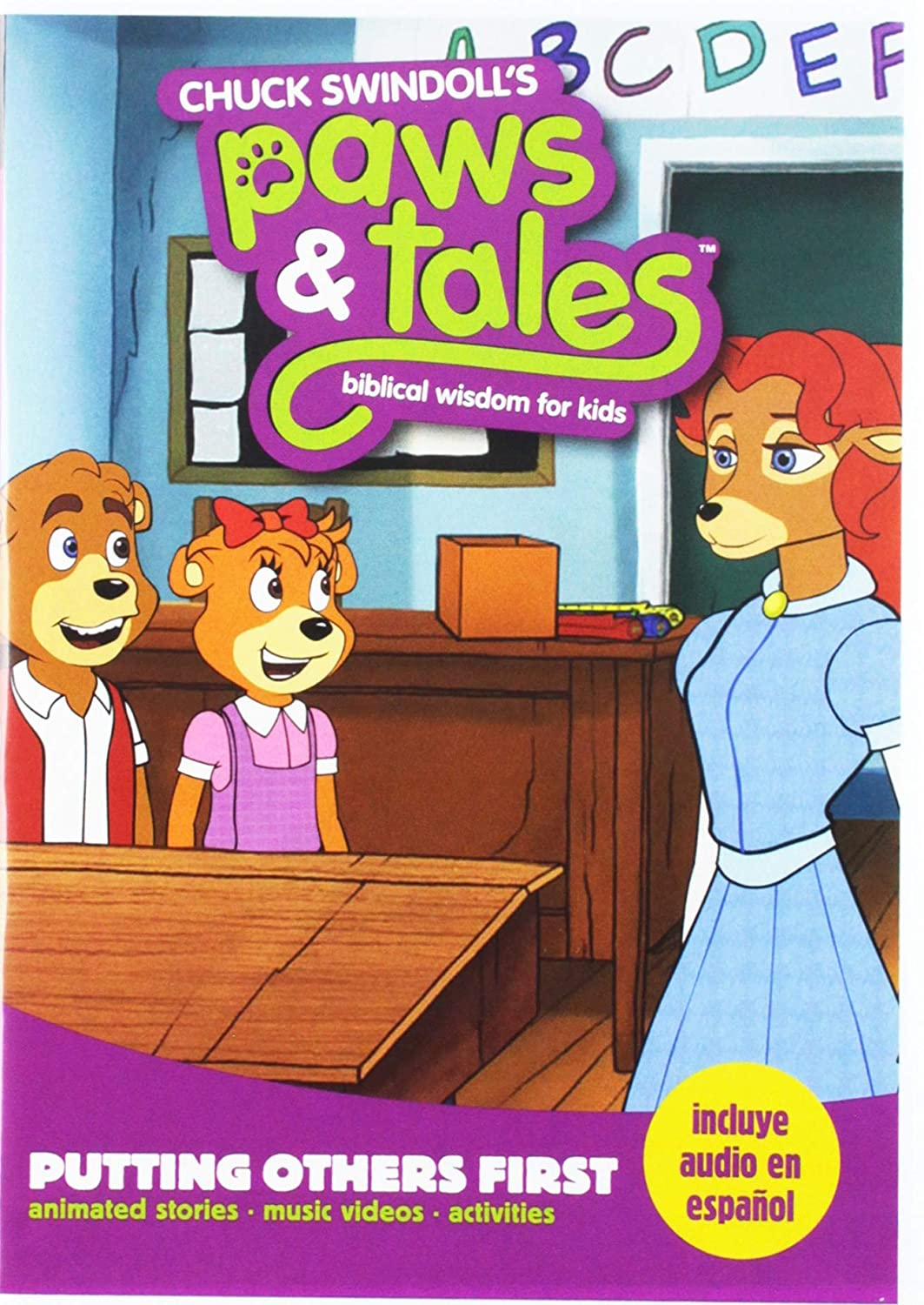 Chuck Swindoll's Paws NEW Tales Challenge the lowest price of Japan Biblical Kids: for Putting Wisdom