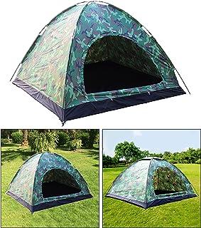 Tält för 3-4 personer vattentätt omedelbart upp baldakin för utomhus camping vandring solskydd regn lätt kupol tält resa s...