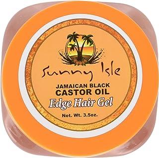 جل الشعر بزيت الخروع الأسود الجامايكي من صني آيل، 3.5 أونصة
