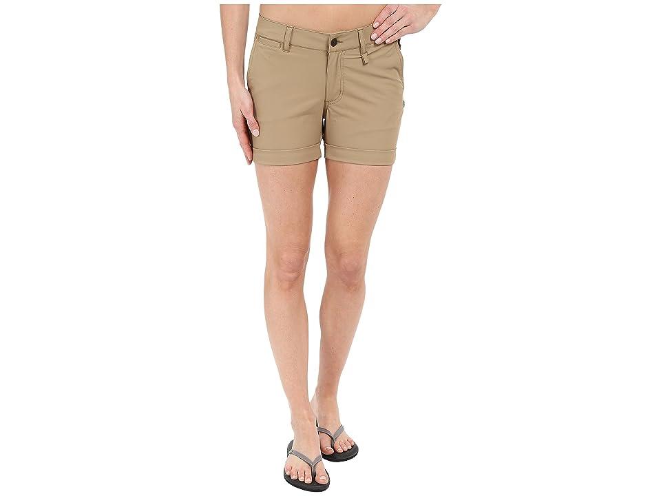 Fjallraven Abisko Stretch Shorts (Sand) Women