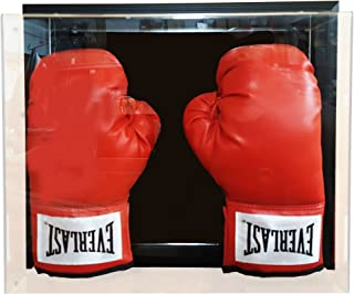 Caseworks International Double Boxing Glove Case-Up Display Case - Black Frame