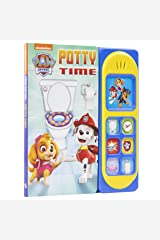 PAW Patrol Chase, Skye, Marshall, and More! - Potty Time - Potty Training Sound Book - PI Kids Board book