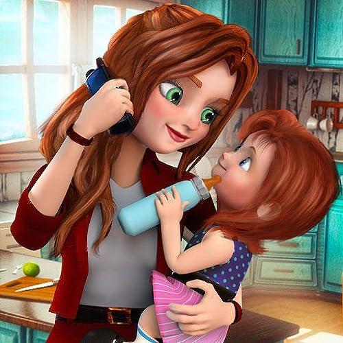 Mãe virtual jogo de família que trabalha mãe simulador 3D: Mamãe creche jogos de aventura para meninas de graça 2018