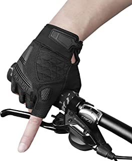 INBIKE Cycling Gloves Stretchy Btrathable Anti Slip EVA Padded for Mountain Bike Road Bike MTB