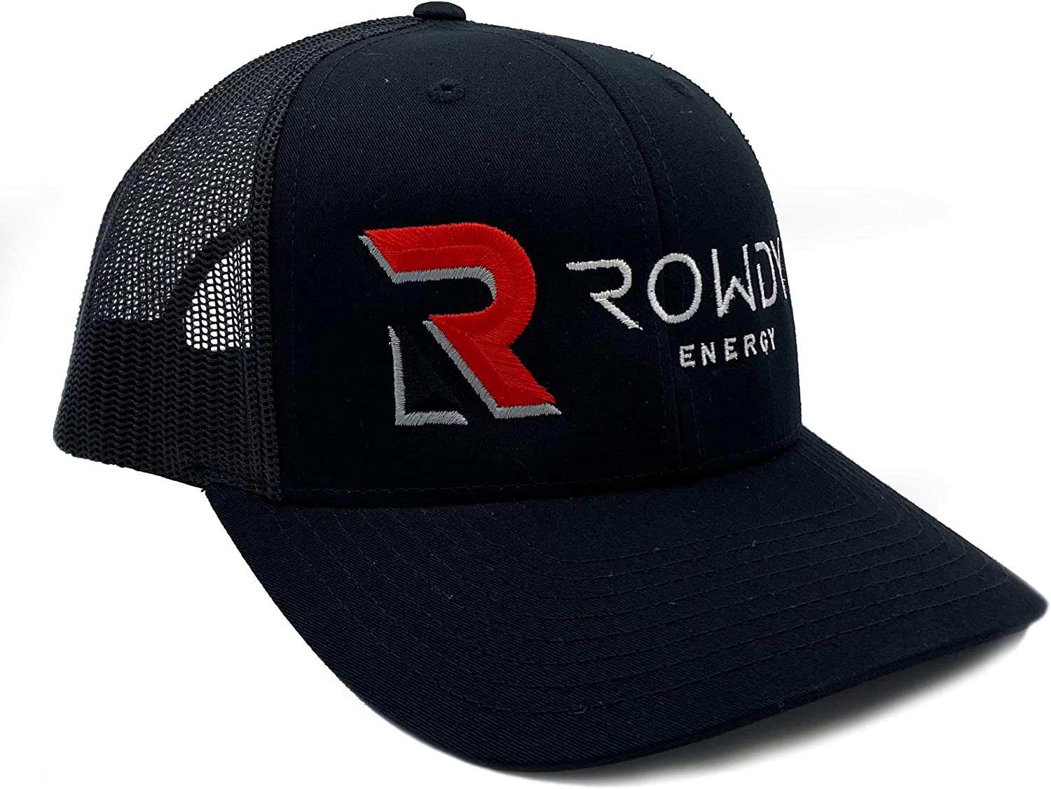 Rowdy Energy Award Trucker Style Mesh Snapback with Hat Back Large special price Closure