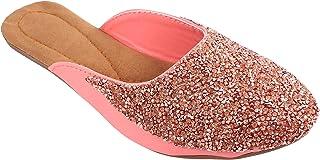 Shree Balaji Footwear EVA Slip-On Fashion Sandal For Women and Girls (SBFG0070-Pink-6)