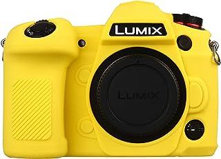 STSEETOP Panasonic LUMIX G9 Kameratasche, Professionell Silikon Gummi Kamerahülle Abdeckung Abnehmbare Schutzhülle für Panasonic LUMIX G9