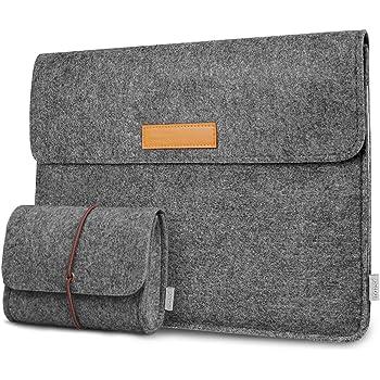 "Inateck Filz Tasche Hülle Kompatibel 13"" MacBook Air 2018/2019/2020, 13'' MacBook Pro 2019/2018/2017/2016, Surface Pro X/7/6/5/4/3/, XPS13, 12.9"" iPad Pro, Laptop Sleeve Case Laptophülle"