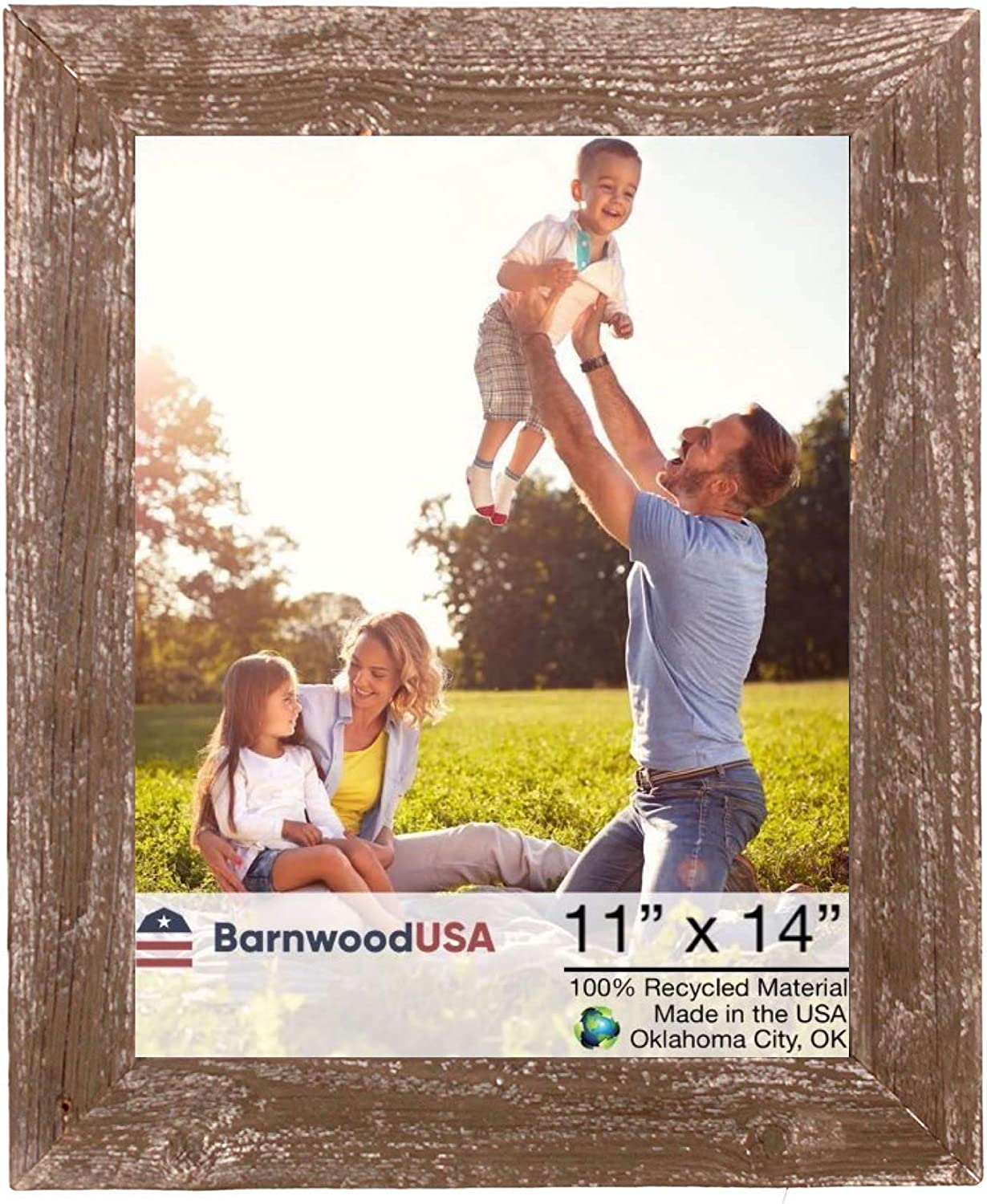 BarnwoodUSA Farmhouse Picture Frame 1 Branded goods - Super sale period limited Molding inch 2