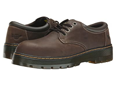 Dr. Martens Work Bolt ST (Dark Brown Wyoming/Brown PU) Men