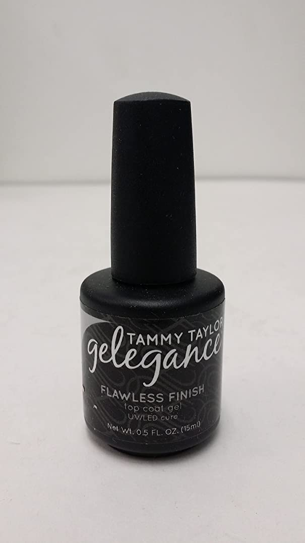 ペデスタル反映する前売Tammy Taylor - Gelegance Flawless Finish - 0.5 Oz / 15 mL