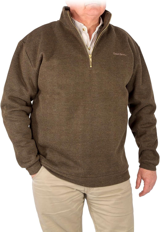 Snowbee Men's Country 1 4 Zip Sweater
