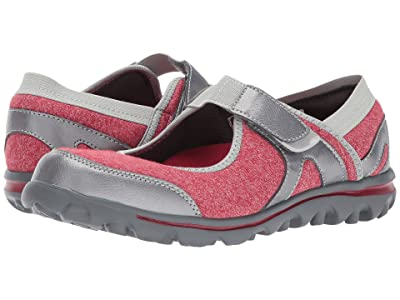 Propet Onalee (Red/Silver) Women