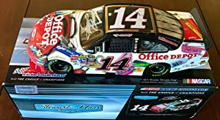 2010 Tony Stewart Office Depot Back To School Signed 1/24 Diecast Car W/COA (A) - Autographed Diecast Cars