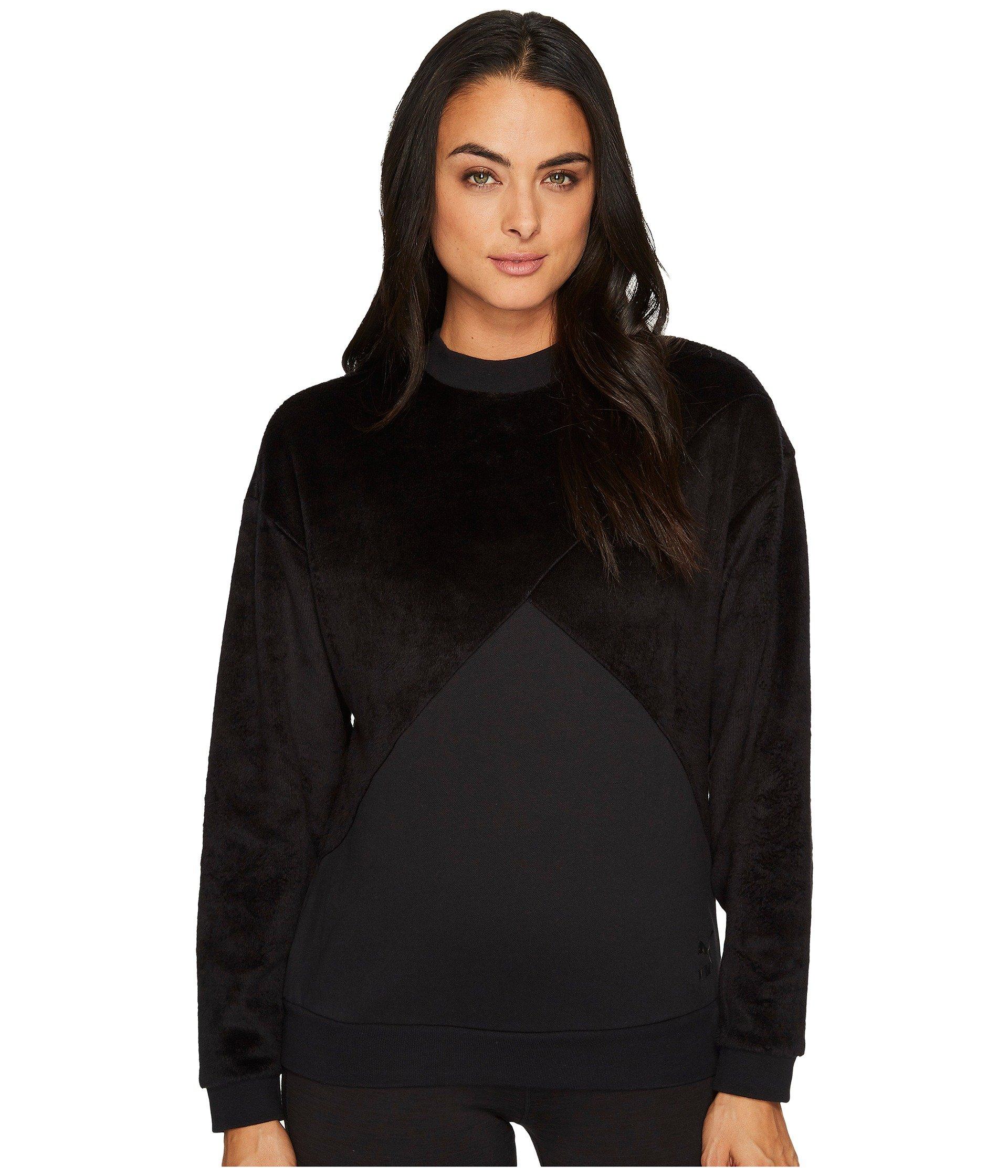 Fabric Block Crew Sweatshirt