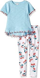 Girls' Cherry Print Legging Set