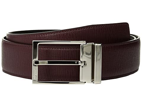 Salvatore Ferragamo Double Adjustable Gancino Calf Belt (679081)