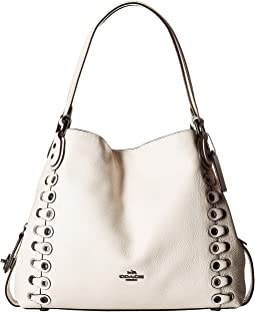 COACH - Edie Shoulder Bag 31 With Coach Link Detail