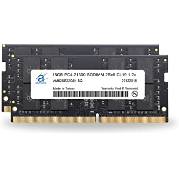 MNE02LL//A by CMS C108 32GB 2x16GB RAM Memory Compatible with Apple iMac Core i5 3.4 21.5-Inch 4K, Mid-2017