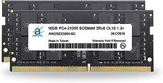 "Adamanta 32GB (2x16GB) Memory Upgrade for 2019 Apple iMac 27"" w/Retina 5K Display, Late 2018 Apple Mac Mini DDR4 2666Mhz PC4-21300 SODIMM 2Rx8 CL19 1.2v DRAM RAM"