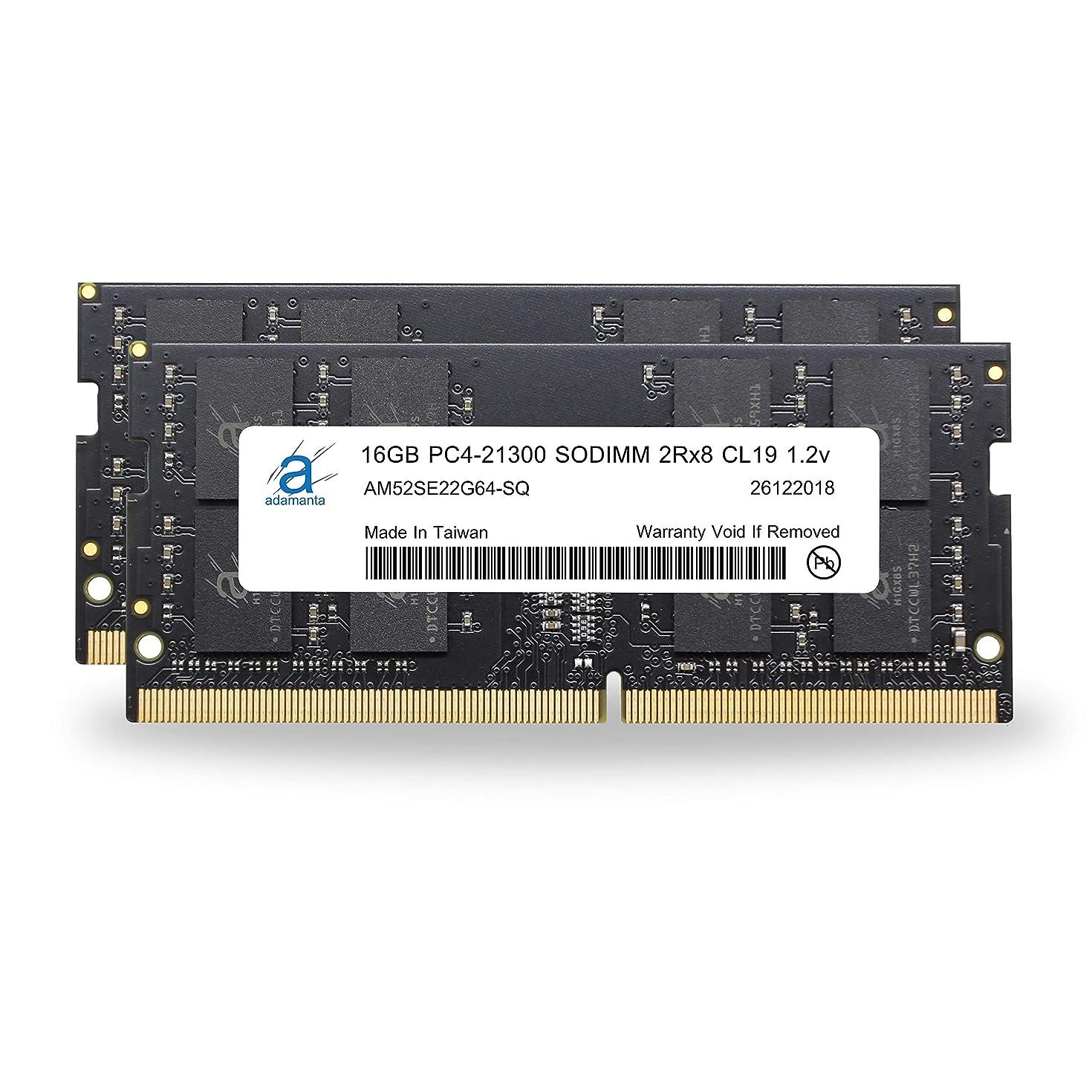 Adamanta 32GB (2x16GB) Memory Upgrade for 2019 Apple iMac 27