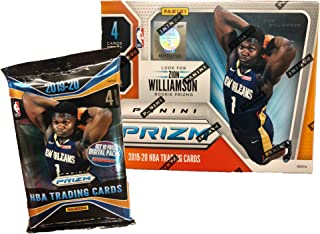 2019-20 Panini PRIZM Basketball Blaster Box - In Stock - 1 Autograph or Memo. Card Per Box - Chase ZION WILLIAMSON Prizm Rookie Cards