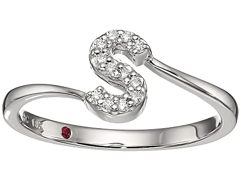 Roberto Coin Tiny Treasure Initial S Love Letter Ring