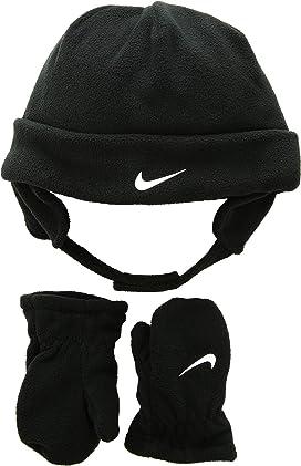 6ed8c866f Nike Kids Swoosh Pom Beanie Gloves Set (Little Kids/Big Kids ...