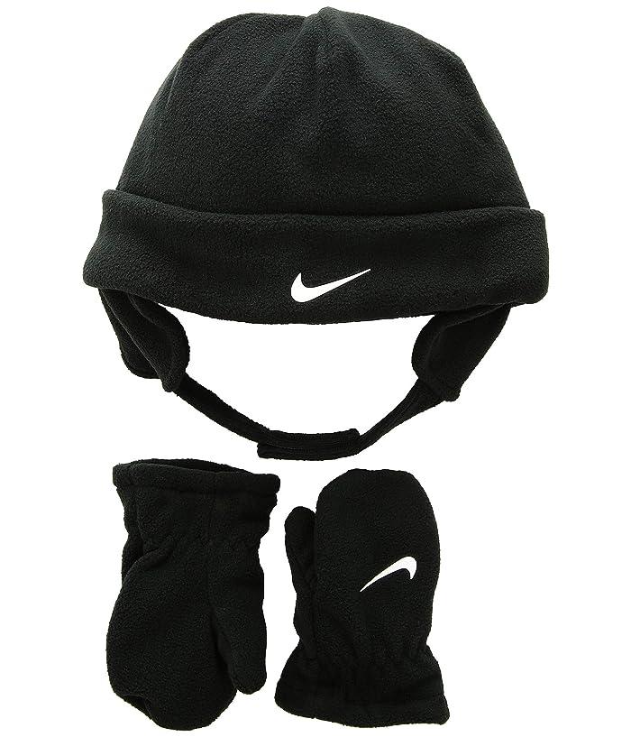 4b930351 Nike Kids Swoosh Baby Fleece Cap Gloves Set (Infant/Toddler ...