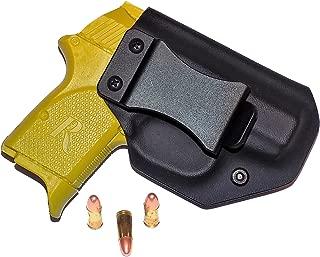 Aggressive Concealment RM380IWBLPBK-RH IWB Kydex Holster Remington RM380