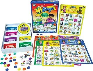 Super Duper 出版物 | Ask & Answer Wh ビンゴボードゲーム | 理解、口頭、コミュニケーションスキル | 誰、何、どこ、いつ、質問 | 子供のための教育学習教材