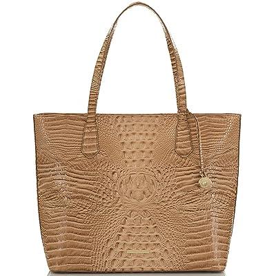 Brahmin Melbourne Misha Tote (Shortbread) Tote Handbags