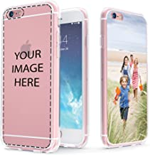 True Color Case Compatible with iPhone 6s - Create Your Own Customized Picture for iPhone 6 Personalized Custom Photo or Design Printed in HD on Clear Back - Shock Absorbing Protective Bumper Cover