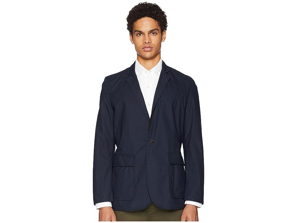 Image of Billy Reid Reversible Blazer (Navy/Black) Men's Jacket