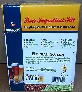 Brewer`s Best One Gallon Home Brew Beer Ingredient Kit (Belgian Saison)