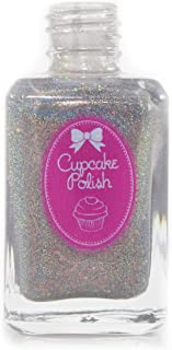 Sponsored Ad - Float Your Boat - dark grey black holographic nail polish by Cupcake Polish